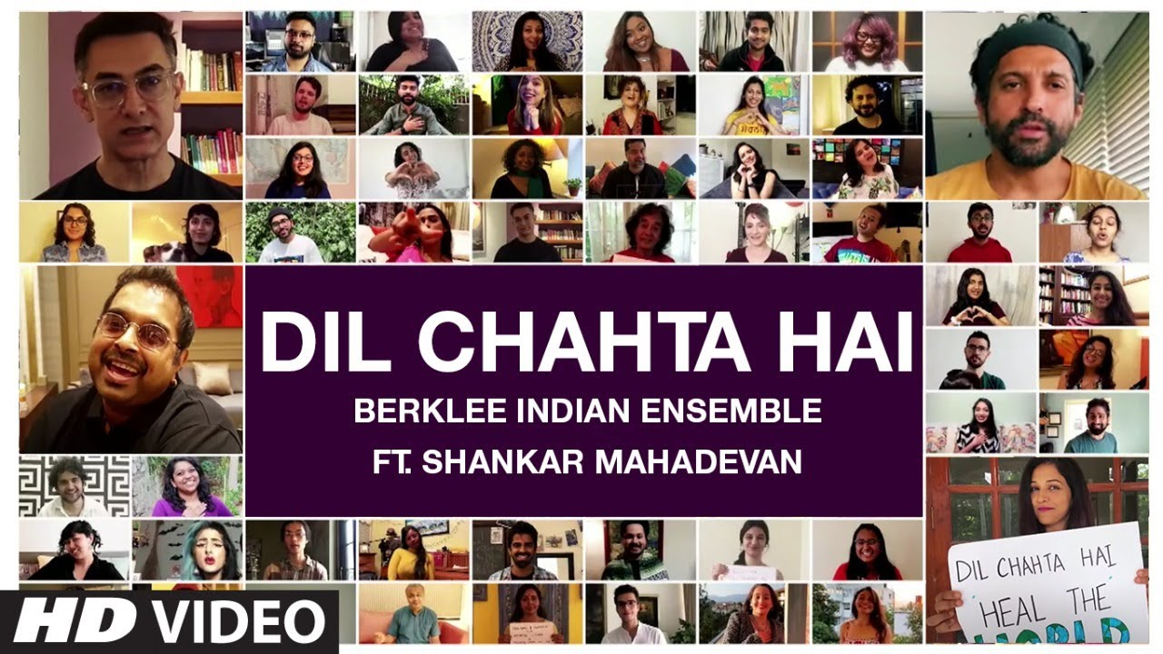 Dil Chahta Hai : Berklee Indian Ensemble Ft. Shankar Mahadevan | T-Series