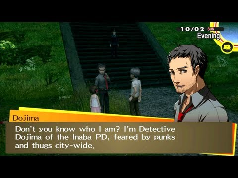 [HD] [PS Vita] Persona 4 Golden - Ryotaro Dojima Social Link [Hierophant]