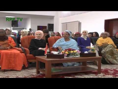 Visite de Erdogan, L'Accueil de la 1ere Dame de Turquie par la 1ere de Djibouti