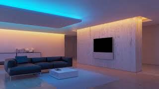 Modern illumination in the interior → Ideas for lighting rooms ➤ Interior design 2019