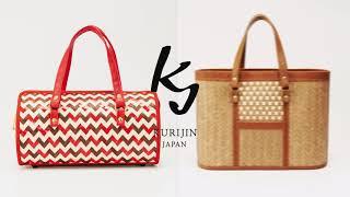 KURIJIN Branding Movie くりじん 広島県府中市オリジナル木織りバッグの製作、販売