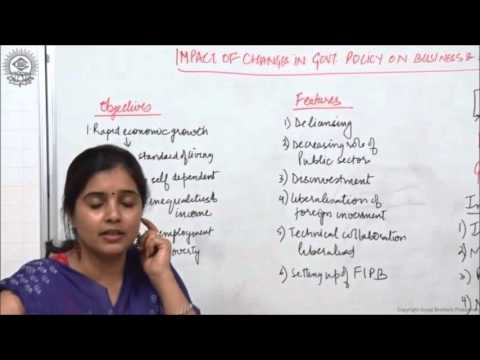 New Economic Policy Class XII Bussiness Studies by  Ruby Singh