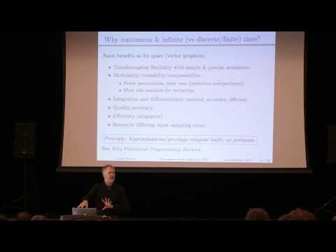 Lambda Jam 2015 - Conal Elliott - The Essence and Origins of Functional Reactive Programming
