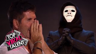 Download WHAT!! MAGICIAN WILL BLOW YOUR MIND! Simon Cowell Can't Believe His EYES!