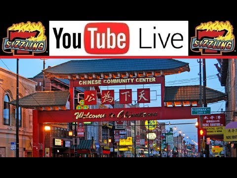 🔴 LIVE from CHICAGO China Town 🇨🇳 Lunch 🍴 Shopping 🛒 Driving 🚙