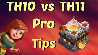 Clash Of Clans   TH10 vs TH11 Pro Tips   Featuring Bliss From Golden Goblins   Strategy