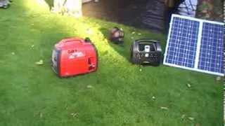 SolarSDS1000 Generator vs Petrol 1KW Generator