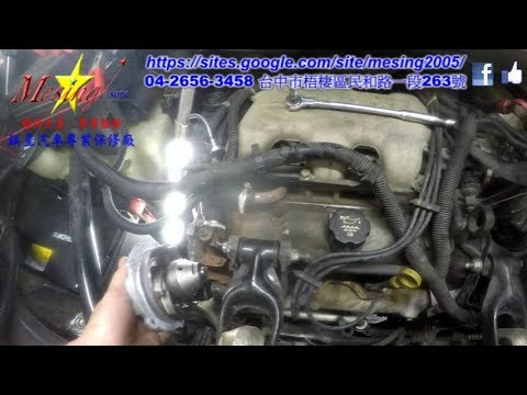 How To Replace A Water Pump On A GM BUICK RENDEZVOUS 3.4L 2002~2005 LA1 4T65E-4