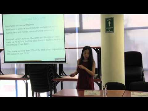 Challenges and Opportunities Female Internal Migrants in Restless China