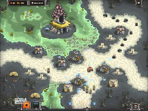 Kingdom Rush (STEAM) - NIGHTFANG SWALE [hard] [campaign] |