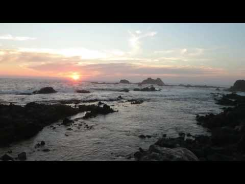2 minutes with Bob & North Chile coast at sunset with music