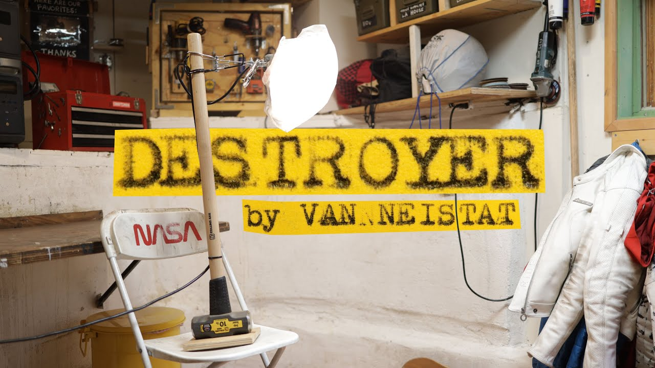 BUILD A DESTROYER LAMP FOR DAD