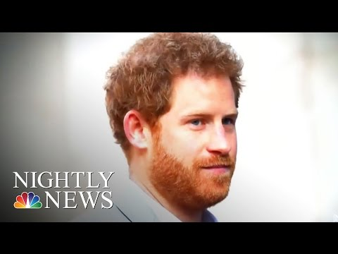 Prince Harry: Close To 'Complete Breakdown' After Mother's Death | NBC Nightly News