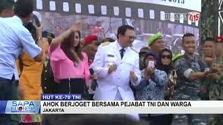 ASOY!!! Ahok goyang Joget Bersama TNI dan Warga