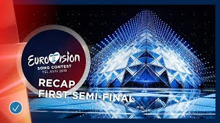 RECAP: All the songs of the first Semi-Final of the 2019 Eurovision Song Contest
