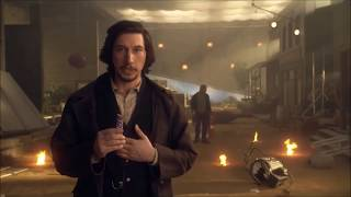 Snickers Superbowl commercial 2017 - Adam Driver (+apologies)