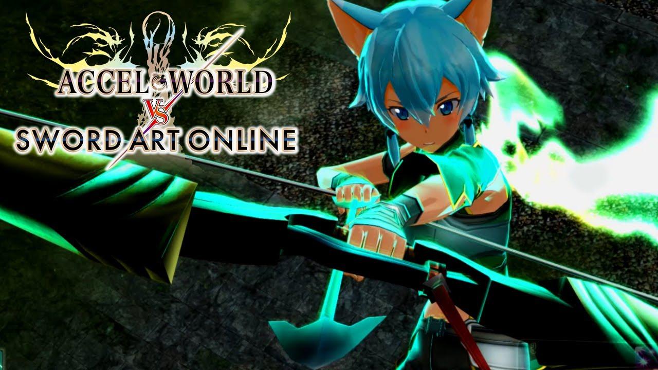 Accel World VS Sword Art Online Part 4 SINON & LEAFA Gameplay Walkthrough - YouTube