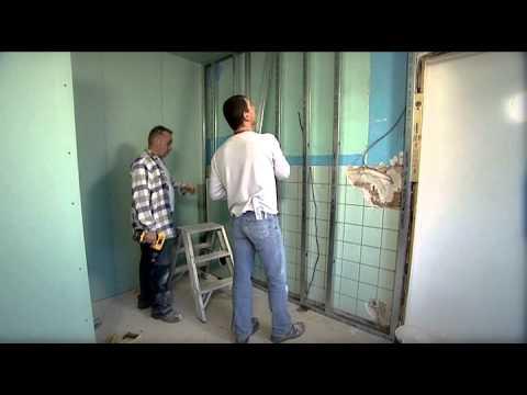 Badkamer Muur Bouwen : Een badkamer inrichten youtube