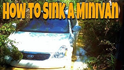 Offroading in a Minivan?? | How to sink your rental car | Wilderness Beach, Aguadilla Puerto Rico