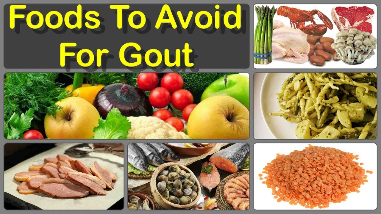 Gout And Foods Not To Eat