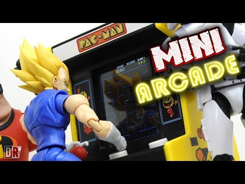 Bandai MINI ARCADE PAC-MAN Review BR / DiegoHDM