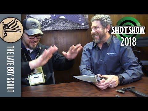 Spyderco Earns Respect - SHOT Show 2018