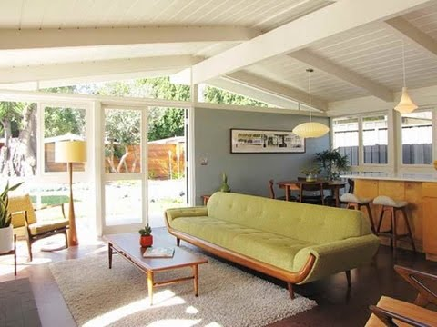 Interior Design Ideas Mid Century Modern - YouTube