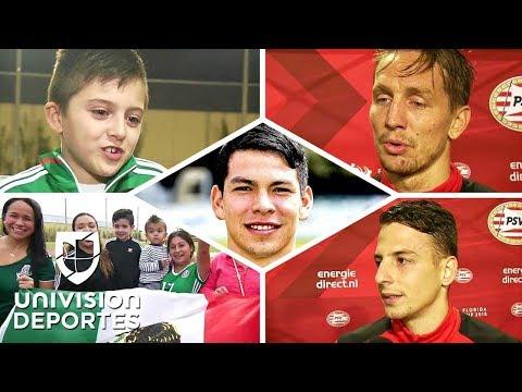 Un 'mar' de elogios: así perciben al 'Chucky' Lozano sus compañeros del PSV y los fans del Tri