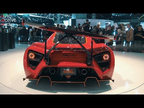 ZENVO TSR-S ACTIVE REAR WING DEMONSTRATION – GENEVA MOTORSHOW 2018