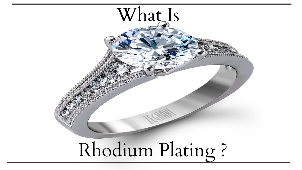 The Jewelers Secret: What is Rhodium Plating? | Dondero's
