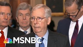 McConnell Says He Has Votes To Set Impeachment Trial Rules Without Dems | Katy Tur | MSNBC