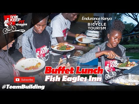 Lunch @ Fish Eagles Inn - Endurance_Dare_Keep_Fit - Hell's Gate National Park (2018)
