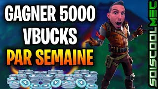 HOW PARTICIPER AND WINNER 5000 VBUCK OR MORE BY WEEK, TOURNOI FORTNITE PP BUILDFIGHT