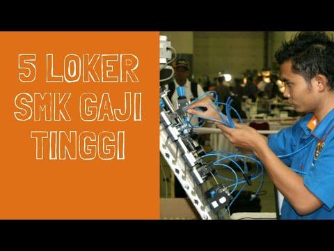 5 Loker SMK Dengan Gaji Tinggi Januari - Februari 2019 Jakarta