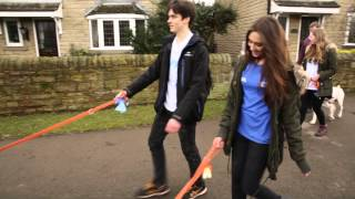 Dog Walking - Student Volunteering Week At Sheffield Hallam Students' Union