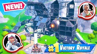 GIANT Custom LLAMA Challenge *NEW* Game Mode in Fortnite Battle Royale