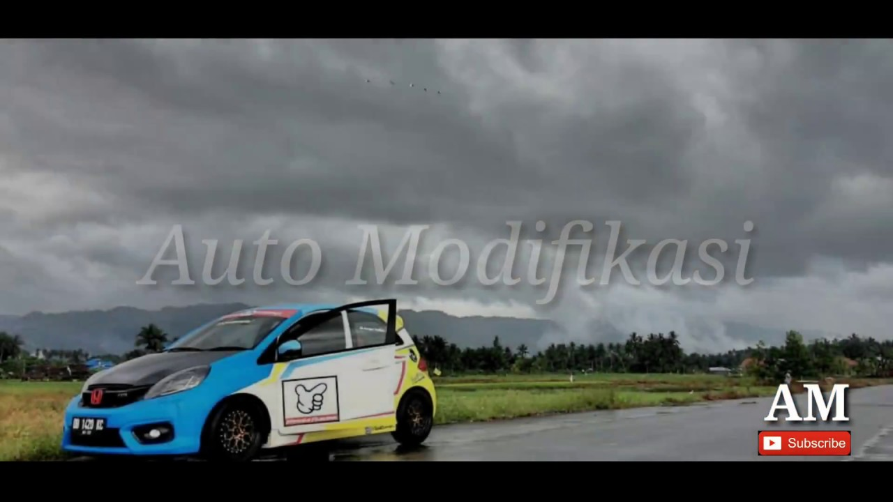 Modifikasi Honda Brio Racing