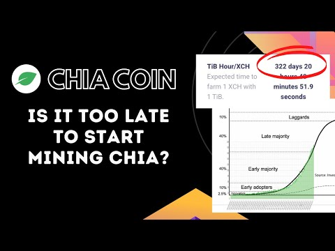Is It Too Late To Start Mining Chia Coins?