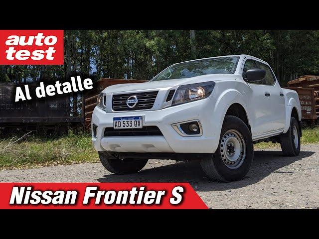 Frontier S, te mostramos la versión base de la pick up cordobesa