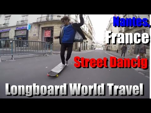 how to long board dance