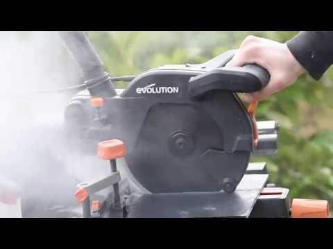 Потапящ циркуляр R210SMS+ 1500 W, 210 мм видео