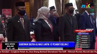 Gubernur Sultra Ali Mazi Lantik 12 Pejabat Eselon 2