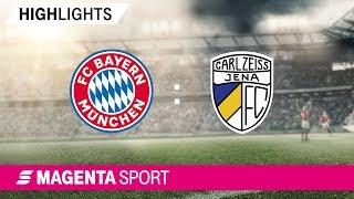 Gambar cover FC Bayern München II - FC Carl Zeiss Jena   Spieltag 17, 19/20   MAGENTA SPORT
