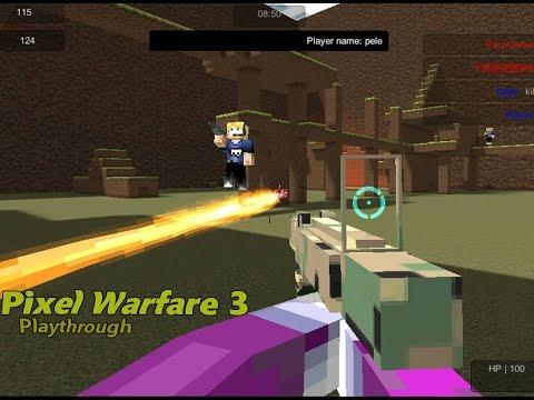 Pixel Warfare 3: Vegetta777 Vs PewDiePie (PC Browser Game)