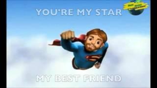 Jesus You're My Superhero- Sing along- Instrumental-Karaoke Version