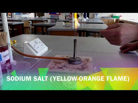 Flame Tests - Identifying Metal Ions