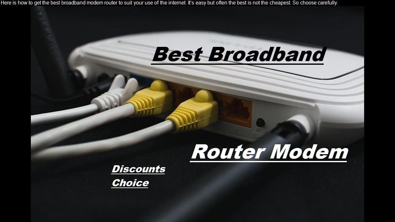 Best Broadband Modem Router - Converting Adsl Modem Router To ...