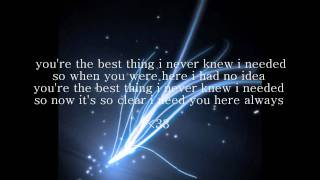 "Ne-Yo - ""Never Knew I Needed"" (LYRICS & DL)"