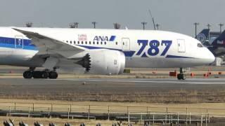 新東京国際空港 New Tokyo airport【成田空港】管制無線入り 離陸着陸シーン   Air traffic controllers communicate