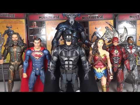 Mattel DC Multiverse Ranking: Worst to Best Justice League Movie Series (Steppenwolf C&C Wave)